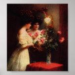 Wedding Day Victorian Lady Art Print