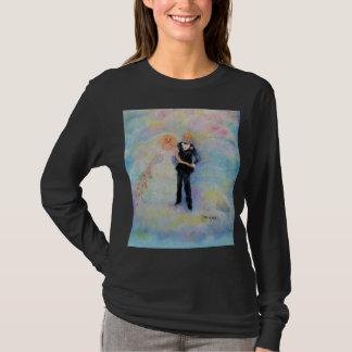 Wedding Day Whimsical Art T-Shirt