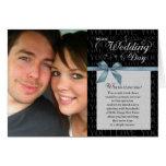 Wedding Day, Why Do I Love You - black w/ ribbon Card