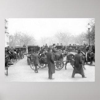 Wedding de clase superior, 1908 póster