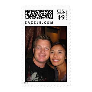 Wedding Dec. 8th 2007 Postage Stamps