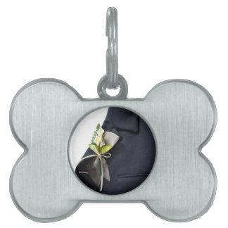 Wedding decoration pet tag