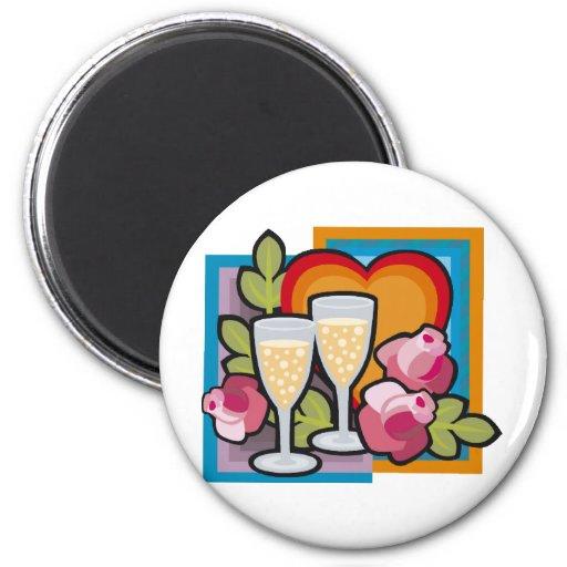 Wedding Decorations 18 Refrigerator Magnet