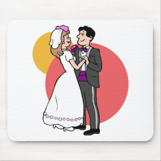 Wedding Decorations 24 Mouse Mat