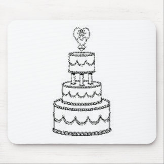 Wedding Decorations 3 Mouse Pad