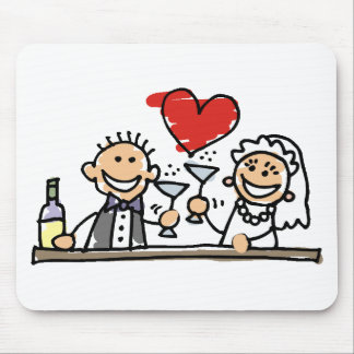 Wedding Decorations 50 Mouse Pads