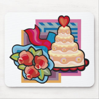 Wedding Decorations 6 Mouse Mats