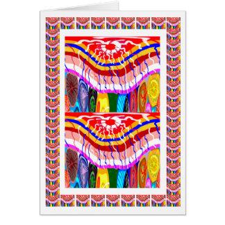 Wedding Decorations - Oriental Goodluck Invitation Greeting Card