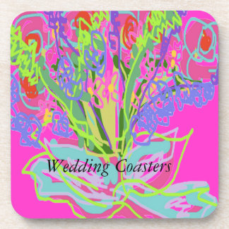 Wedding Design Coasters