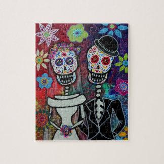 Wedding Dia de Los Muertos Puzzle