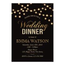 Wedding Dinner Invitation