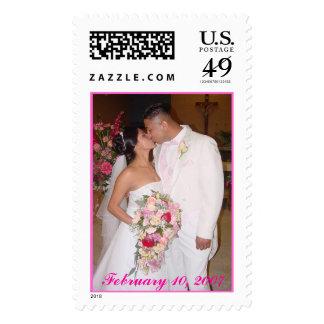 Wedding disk 1 172, February 10, 2007 Stamp