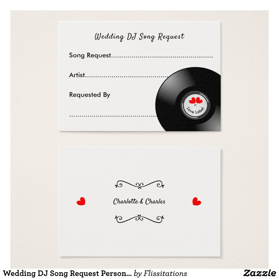 Wedding DJ Song Request Personalized
