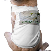 Wedding Dog T-Shirt Bride