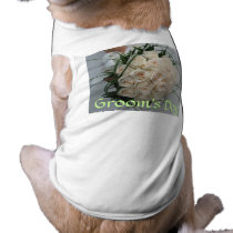 Wedding Dog T-Shirt Groom