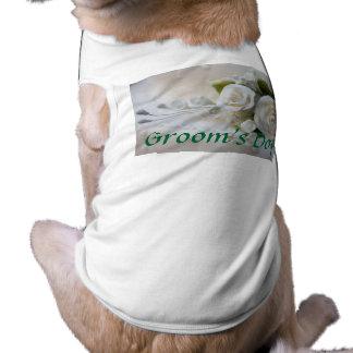 Wedding Dog T-Shirt Groom