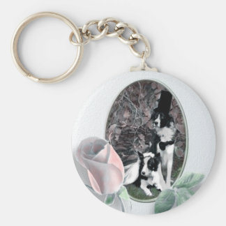 Wedding Dogs Keychain