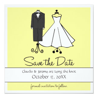 Wedding Doodles | Save the Date Card