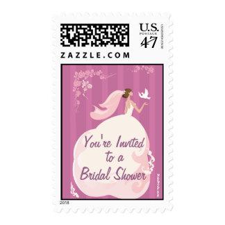Wedding Dove Postage Stamp