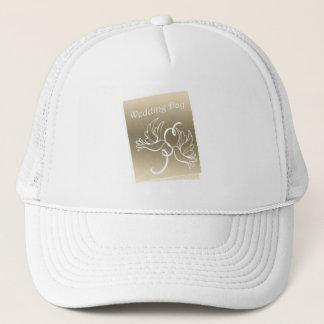 Wedding Doves Art Design Trucker Hat