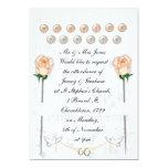 Wedding Doves Custom Invites