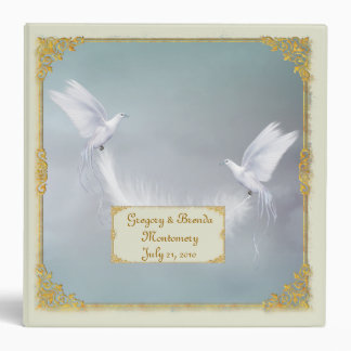 Wedding Doves Photo Binder