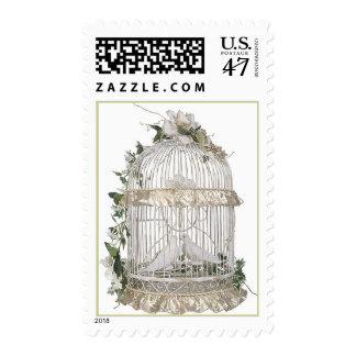 Wedding Doves Postage