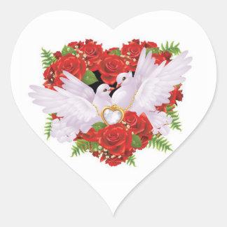 Wedding Doves Stickers