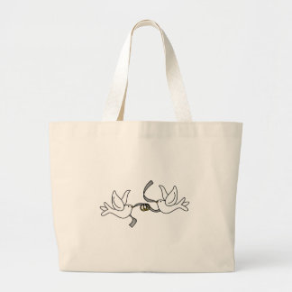 Wedding Doves with Rings Bag