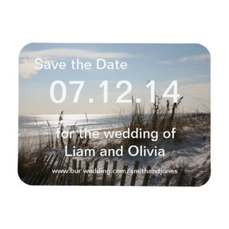 Wedding  Dreams Magnet Save the Date