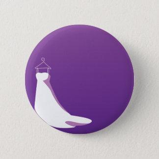 Wedding Dress: Beautify in purple Button