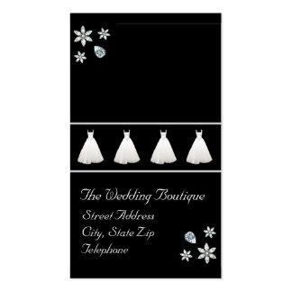 Wedding Dress Boutique Business Card