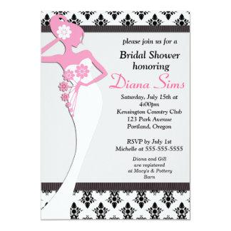 Wedding Dress Bridal Shower Invite - Customized