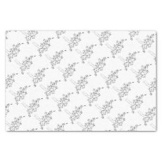Wedding Dress Brides Abstract Concept Tissue Paper