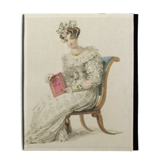 Wedding dress, fashion plate from Ackermann's Repo iPad Folio Cases