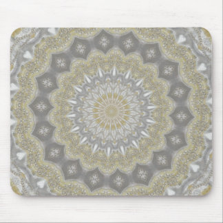 Wedding dress kaleidoscope #3 mousepad