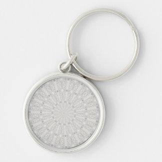 Wedding dress kaleidoscope #4 keychain