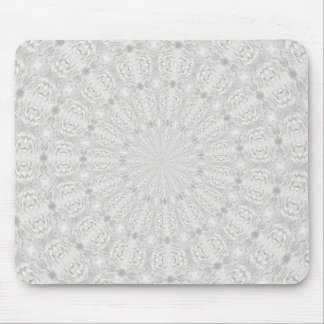 Wedding dress kaleidoscope #4 mouse pad