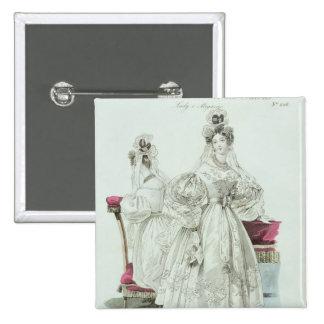 Wedding dress, 'Le Follet Courrier Salons Button