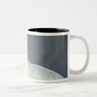 Wedding dress of Katharine Worsley Two-Tone Coffee Mug