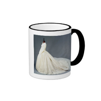 Wedding dress of Katharine Worsley Ringer Coffee Mug