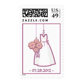 Wedding Dress Postage