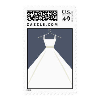 Wedding Dress Postage Stamps