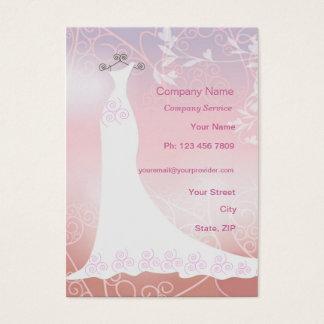 Wedding dress service  Business Card