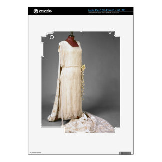 Wedding dress worn by Mary, Princess Royal, 1922 Decal For iPad 3