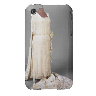 Wedding dress worn by Mary, Princess Royal, 1922 iPhone 3 Case
