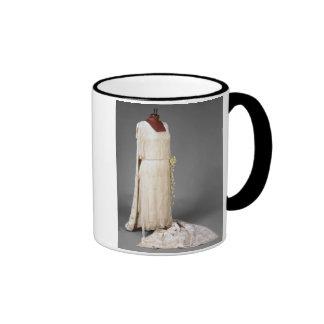 Wedding dress worn by Mary, Princess Royal, 1922 Ringer Coffee Mug