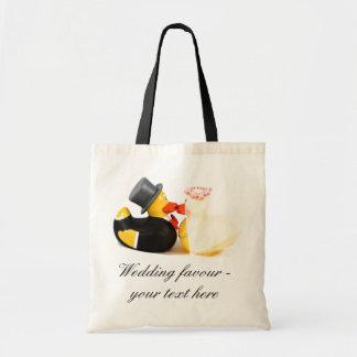 Wedding ducks ... favour bag