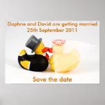 Wedding ducks ... Poster