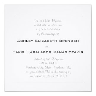 Wedding Elegance Card